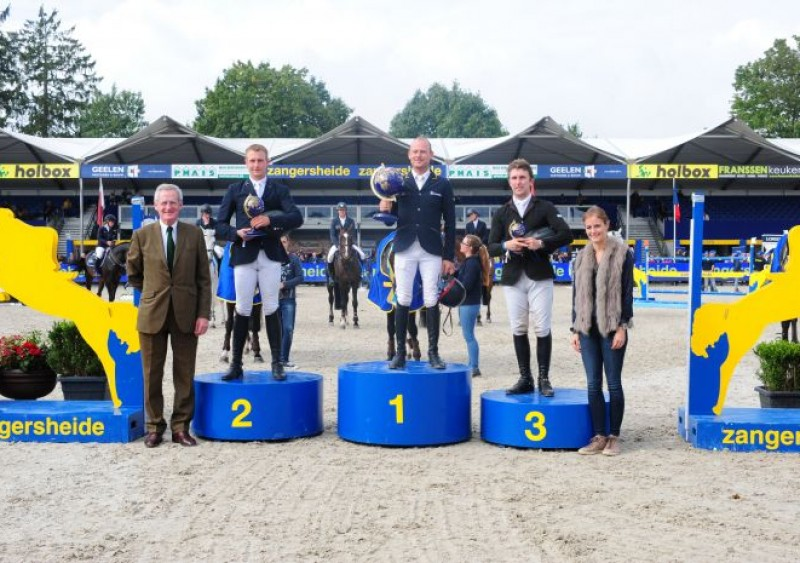 Marc Bettinger en Bacardi winnen the Sires of the World.