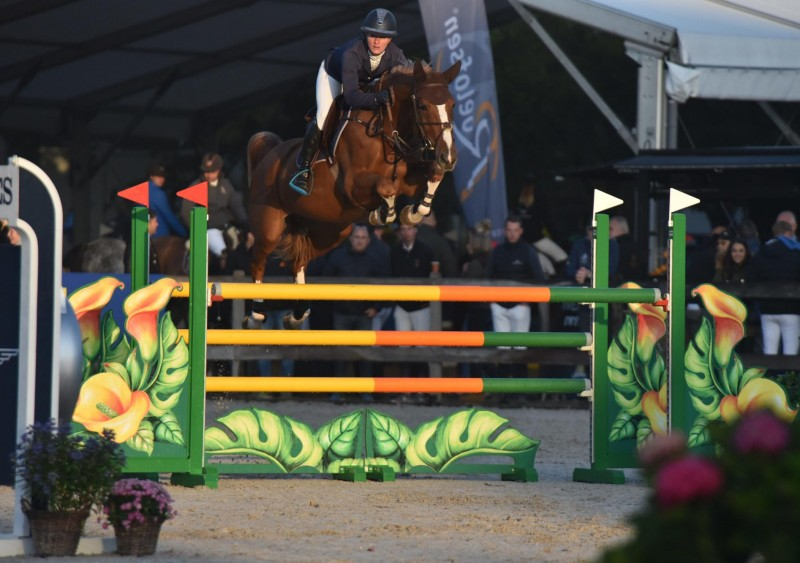 73 combinations clear in the first qualifier for 5-year-old horses