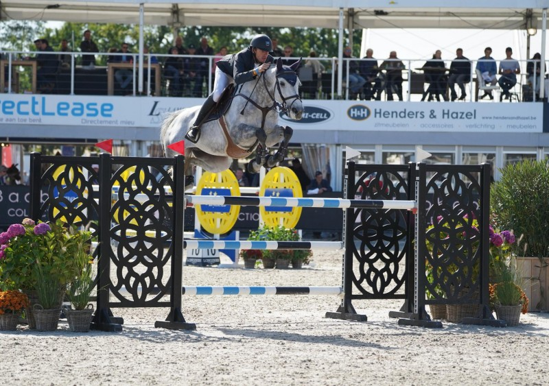 Belgium on top in the second qualification for 7-year-old horses