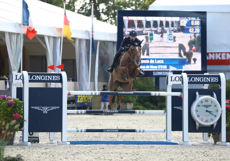 Italy on top in first qualification for 7-year-old horses