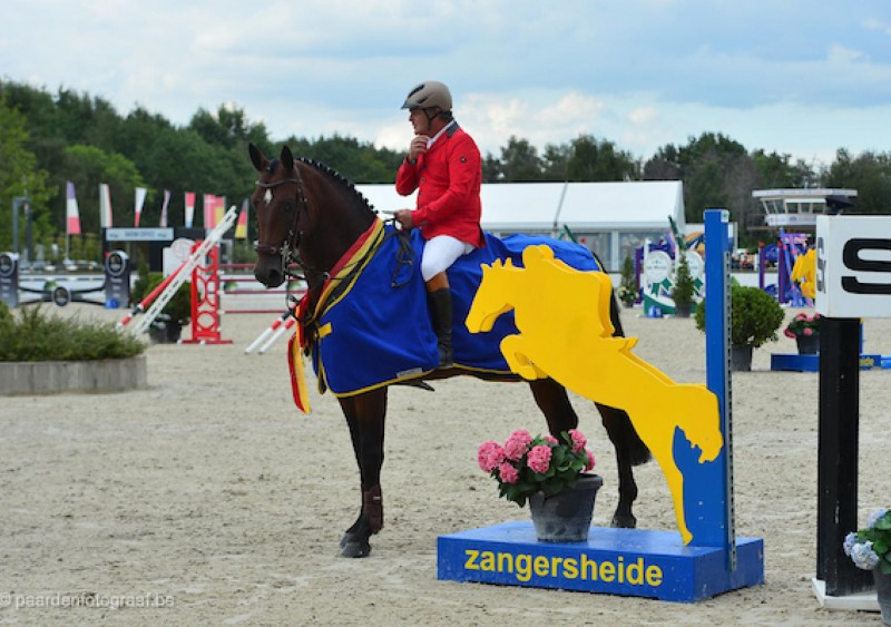 Two out of three Zangersheide medals among the 5-year-olds!