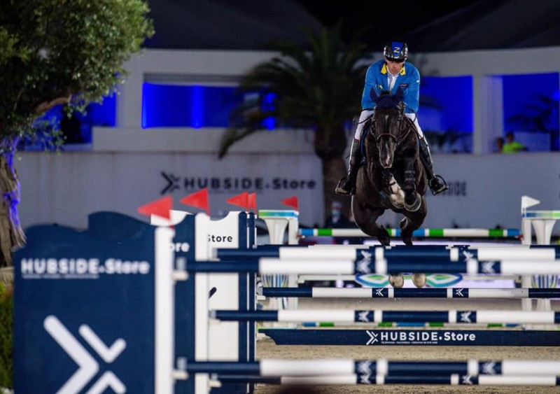 Dominator Z 10th in the CSI5 * GP of St. Tropez!