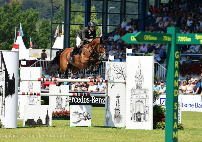 Ladriano Z, vice-winnaar in $ 401,000 Grand Prix Wellington