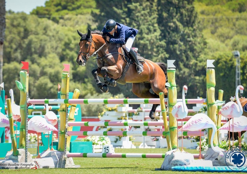 Looyman Z wins the CSI2 * GP in Vejer de la Frontera!