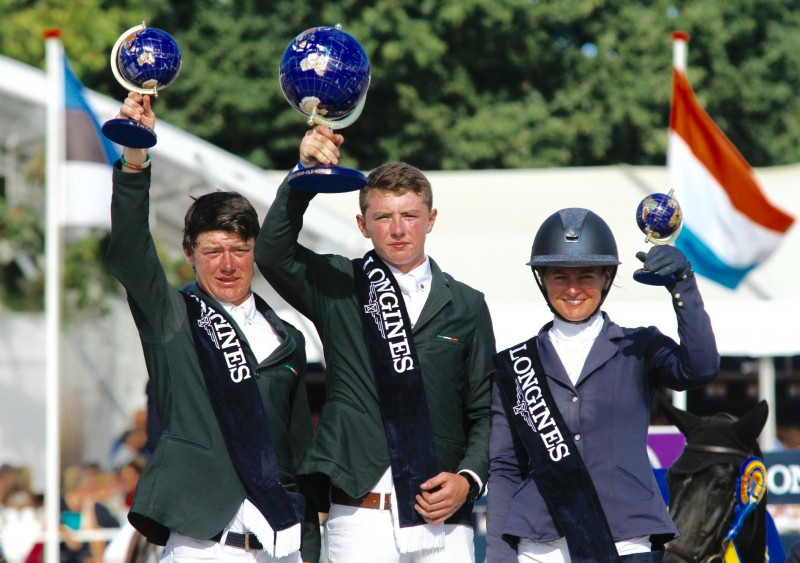 Ireland claims again Gold and Silver in WC of 5-year-old horses