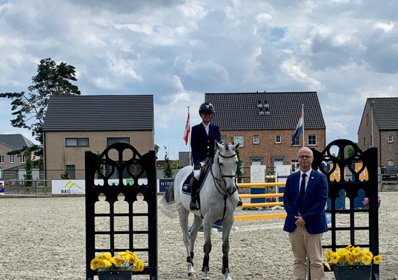 Two in a row for Coquelicot Vh Heuvelland Z in Opglabbeek!