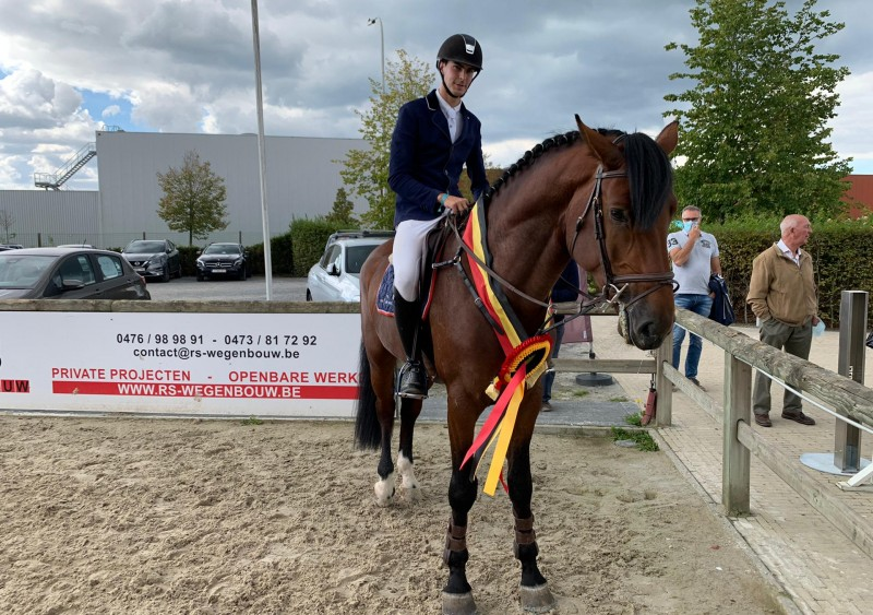 Kadco Hero Z and Come-On Van Eeckelghem Z Belgian Champion 4-year-olds!